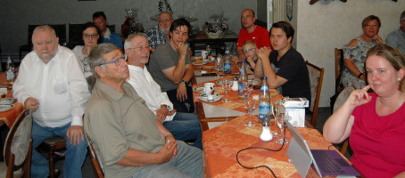 Gäste der Mitgliederehrung 2019
