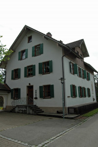 Bild vom Geburtshaus von Albert Wehr von der Ostseite her aufgenommen, 2015