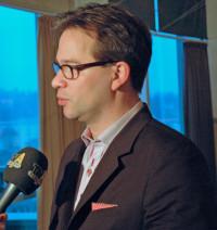 Florian Pronold beim Interview zum Thema mit TV Allgäu