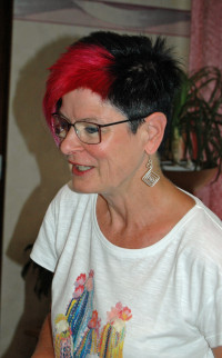 Bezirksrätin Petra Beer (Memmmingen) bei ihrem Referat