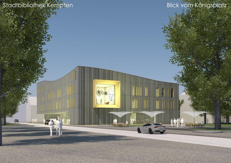 Stadtbibliothek_Ansicht Königsplatz